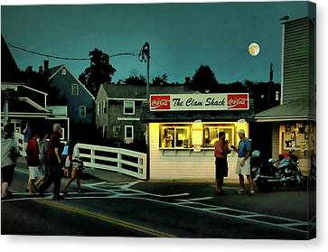 The Clam Shack Canvas Print