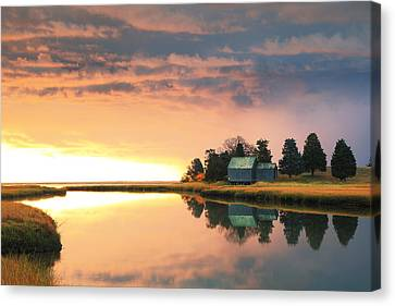 The Clearing Storm, Eastham, Cape Cod Canvas Print by Roupen  Baker