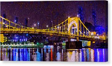 The Clemente Bridge Heading To The Northshore Canvas Print