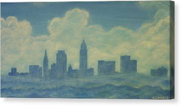 The Cleveland Blues Canvas Print by James Violett II