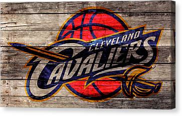 The Cleveland Cavaliers 2w Canvas Print