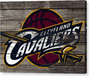 The Cleveland Cavaliers 3f      Canvas Print