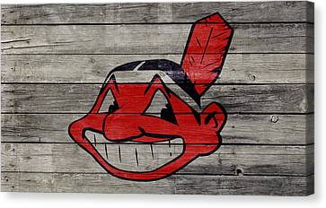 The Cleveland Indians 2w Canvas Print by Brian Reaves