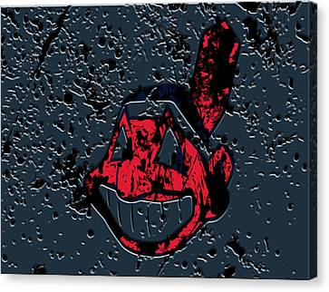 The Cleveland Indians Canvas Print by Brian Reaves