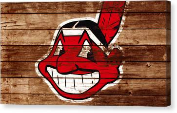 The Cleveland Indians C1 Canvas Print by Brian Reaves