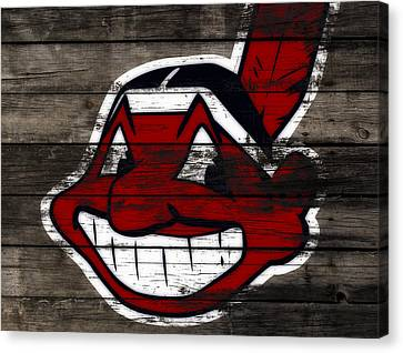 The Cleveland Indians C2 Canvas Print by Brian Reaves