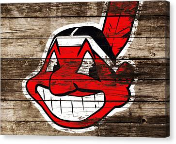 The Cleveland Indians C3 Canvas Print by Brian Reaves