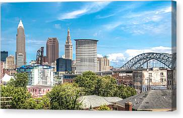 The Cleveland Skyline Canvas Print