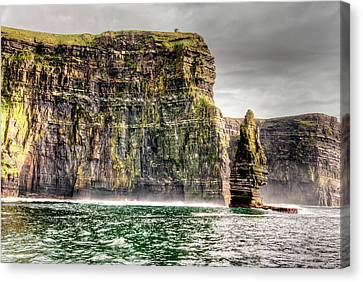 The Cliffs Of Moher Canvas Print by Natasha Bishop