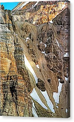 The Climb To Abbot's Hut Canvas Print by Steve Harrington