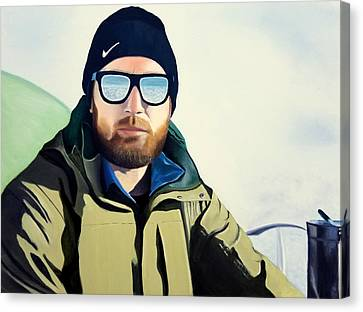 Nike Canvas Print - The Climber by Karyn Robinson