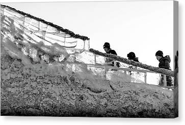 Canvas Print featuring the photograph The Climbers by John Williams