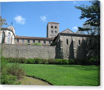 The Cloisters Castle Canvas Print by Hasani Blue