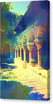 The Cloisters Canvas Print