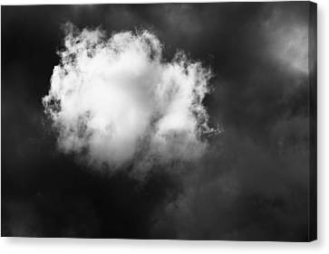 Canvas Print featuring the photograph The Cloud by Mary Lee Dereske