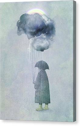 The Cloud Seller Canvas Print by Eric Fan