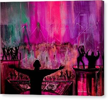 The Club Canvas Print by Andres Gonzalez