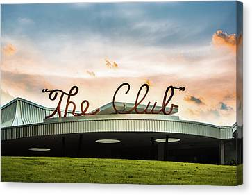 Canvas Print featuring the photograph The Club Birmingham by Parker Cunningham
