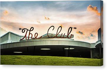 Canvas Print featuring the photograph The Club Panorama by Parker Cunningham