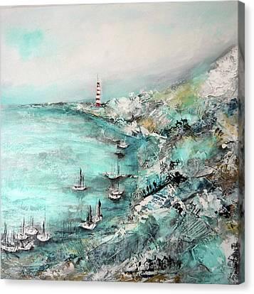 Prints On Canvas Print - The Coast by Irina Rumyantseva