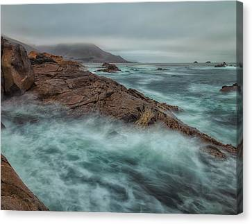 The Coastline Canvas Print