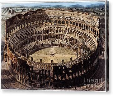 The Coliseum, Rome, 1820 Canvas Print