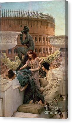 The Coliseum Canvas Print by Sir Lawrence Alma-Tadema