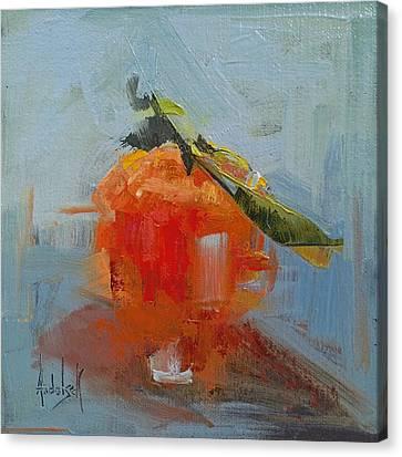 The Color Orange Canvas Print by Barbara Andolsek