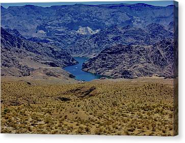The Colorado River  Canvas Print
