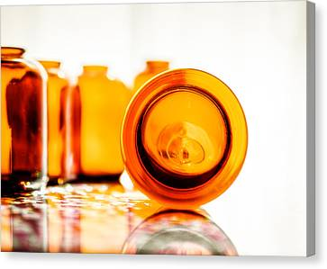 The Colour Of Amber V Canvas Print