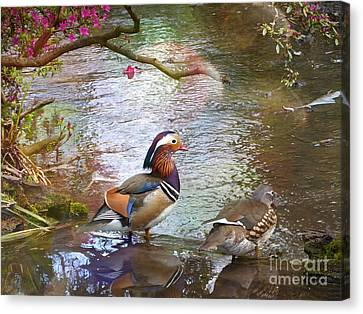 Canvas Print featuring the photograph The Colours Of Spring by LemonArt Photography