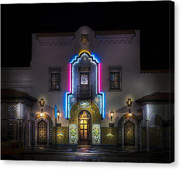 The Columbia Restaurant Canvas Print by Marvin Spates