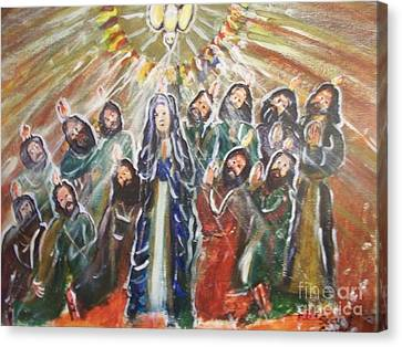 The Coming Of The Holy Spirit  Canvas Print by Seaux-N-Seau Soileau