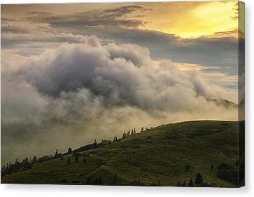 Summer Storm - Roan Mountain Canvas Print