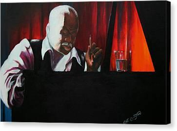 Basie Canvas Print - The Composer by Arthur Covington