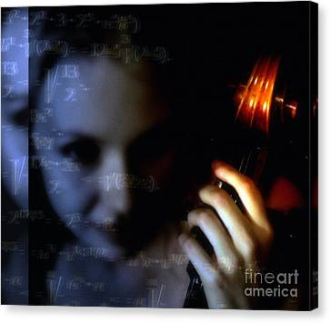 The Composer  Canvas Print by Steven Digman
