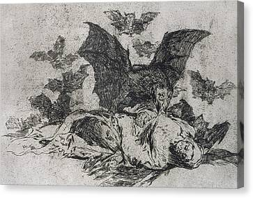 The Consequences Canvas Print by Goya
