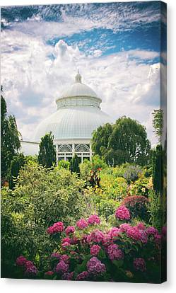 The Conservatory And Gardens Canvas Print by Jessica Jenney