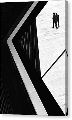 The Conspiracy Theory Canvas Print by Paulo Abrantes