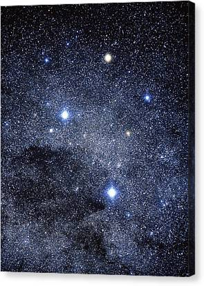 The Constellation Of The Southern Cross Canvas Print by Luke Dodd