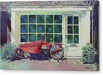 The Contraption At Number Two Canvas Print by Jenny Armitage