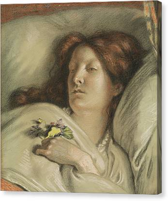 The Convalescent Canvas Print by Ford Madox Brown