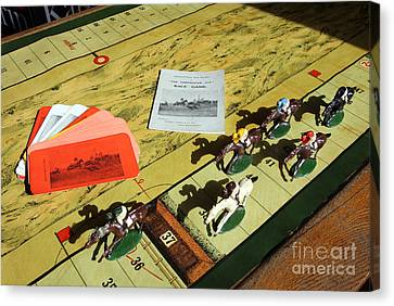 The Conyngham Cup Race Board Game Canvas Print