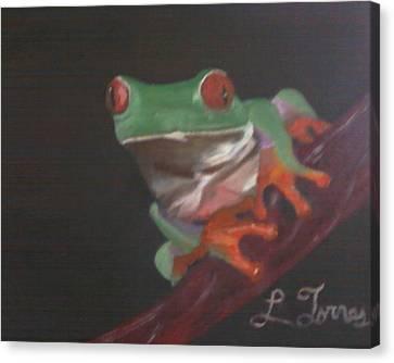 The Coqui Canvas Print by Lourdes Torres