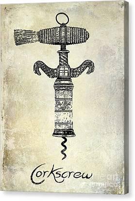 The Corkscrew Canvas Print