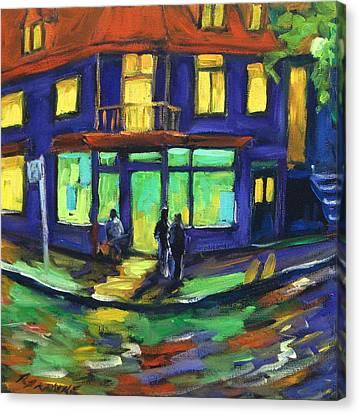 The Corner Store Canvas Print