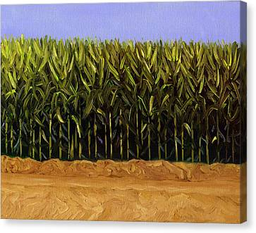 The Cornfield Canvas Print