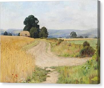 The Cornfield Canvas Print