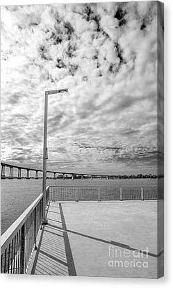 Canvas Print - The Coronado Bridge San Diego California by Julia Hiebaum