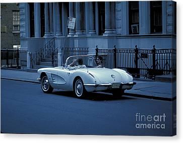 The Corvette Canvas Print by Marc Bittan